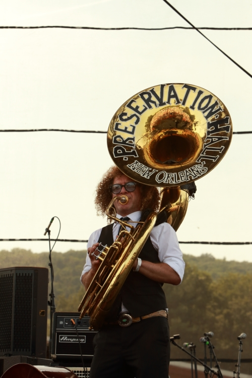 Ben Jaffee of Preservation Hall Jazz Band