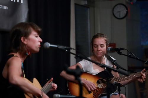 Brittany Haas and Margaret Glaspy
