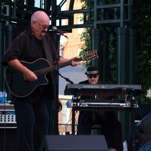 Dave Mason and Anthony 'Tony' Patler