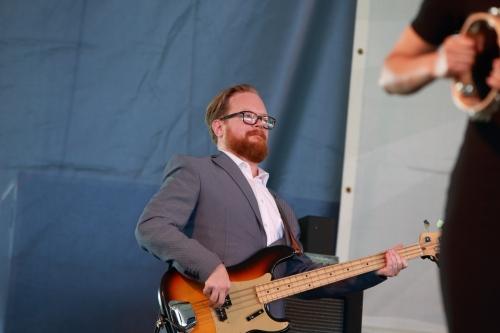 of Leon Bridges' band