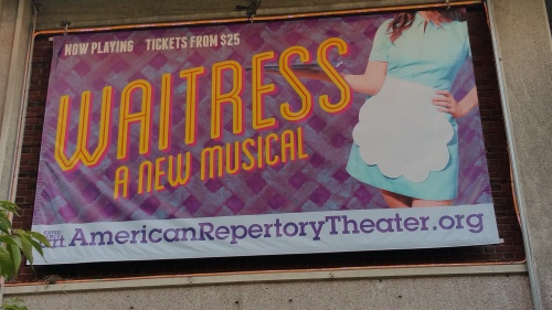 'Waitress' marquee