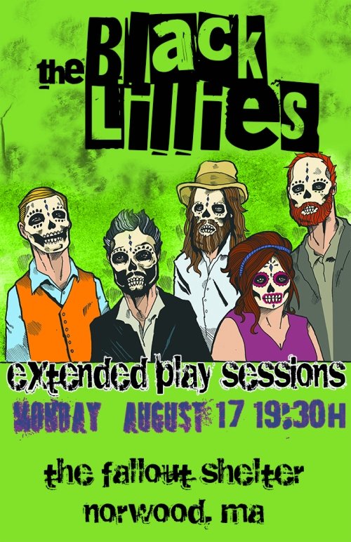 The Black Lillies (Official Poster)