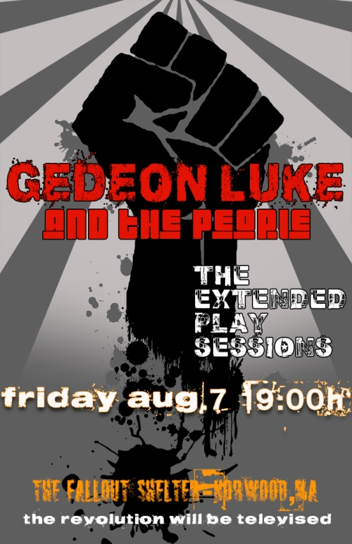 Gedeon Luke and The People (Official Poster)