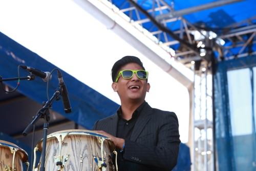 Jose Luna of The Suffers