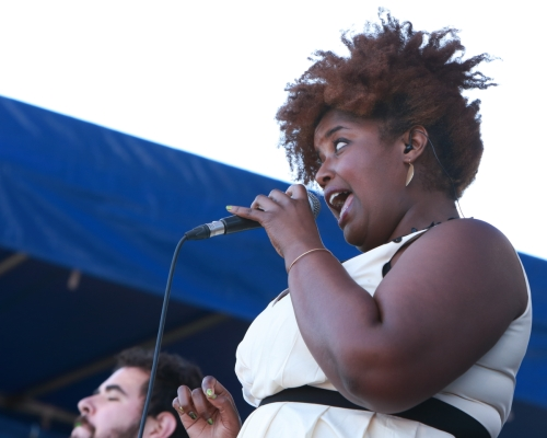 Kam Franklin of The Suffers