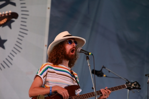 Richie Kirkpatrick of Langhorne Slim & The Law