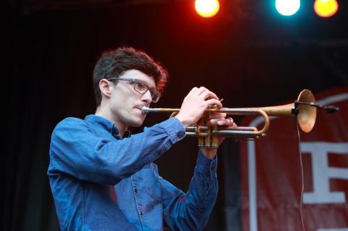 Vieux's Trumpet Player