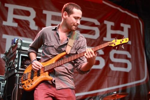 Vieux's bassist