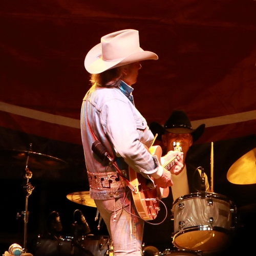 Dwight Yoakam and Mitch Marine