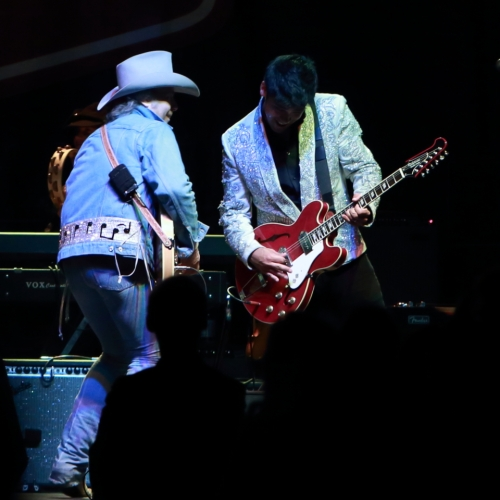 Dwight Yoakam and Eugene Edwards