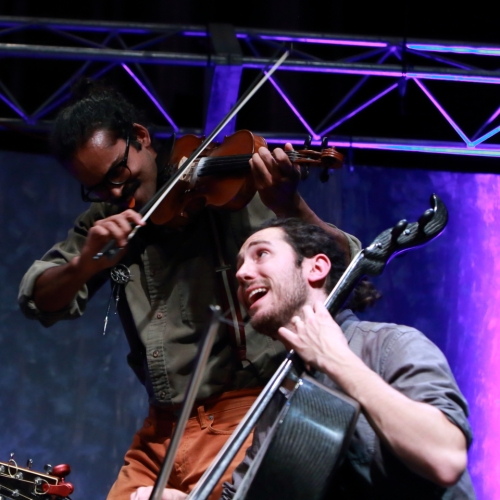 Auyon Mukharji and Harris Paseltiner