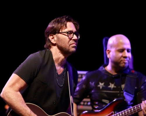 Al DiMeola (watching Evan Garr)