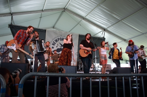 The Oh Hellos - Newport Folk Festival 2014