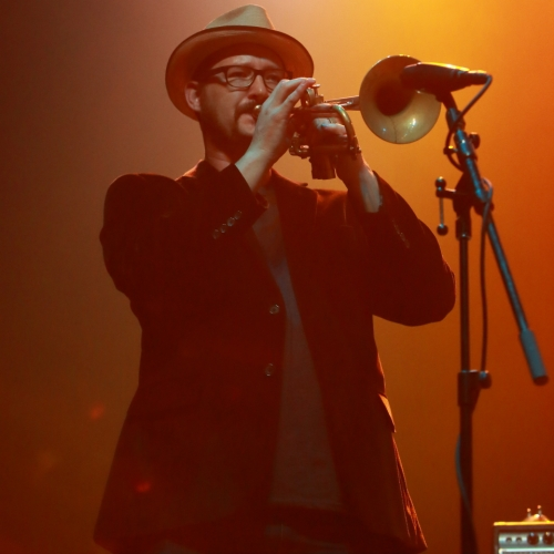Anderson East's trumpet player