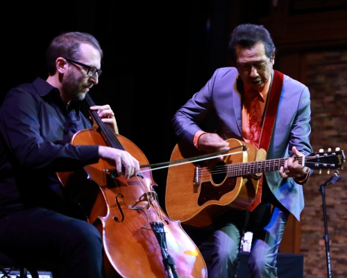 Matt Fish and Alejandro Escovedo