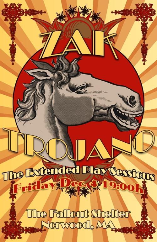 Zak Trojano (Official Poster)