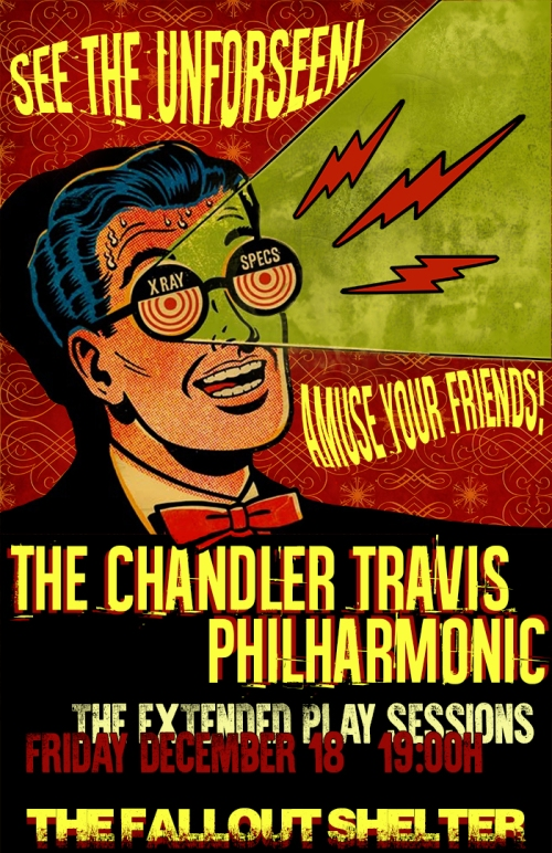 Chandler Travis Philharmonic (Official Poster)