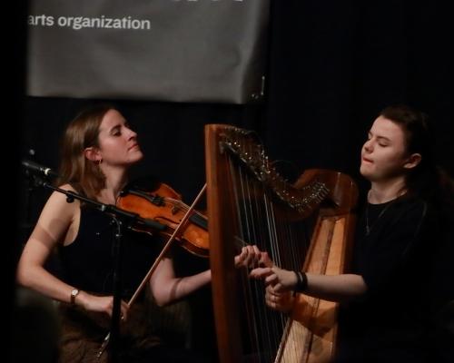 Jenna Moynihan and Mairi Chaimbeul