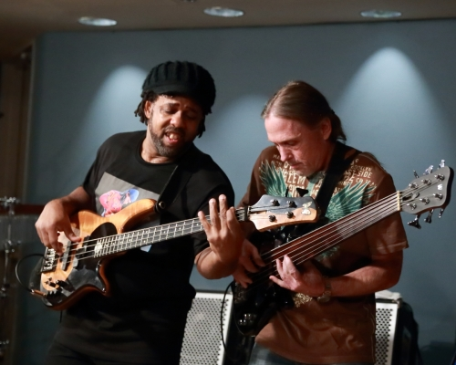 Victor Wooten and Steve Bailey