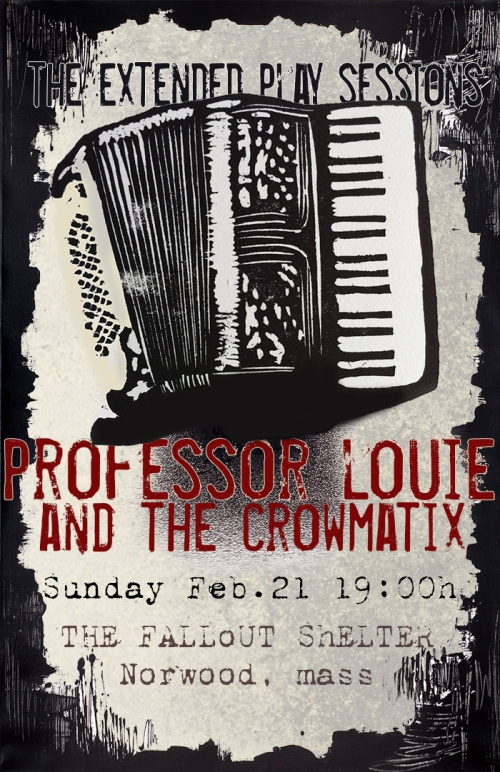 Professor Louie and the Crowmatix (Official Poster)