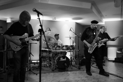 Mike Stern, Dennis Chambers, Bob Franceschini, Tom Kennedy