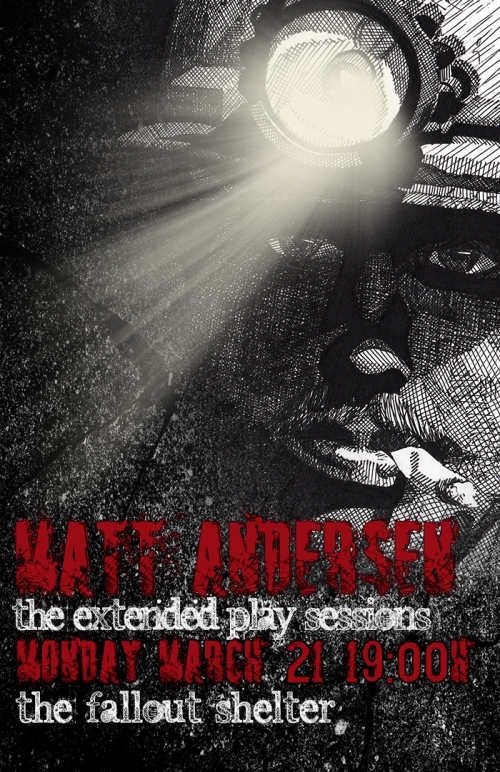 Matt Andersen (Official Poster)