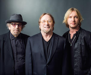 The Rides: Barry Goldberg, Stephen Stills, Kenny Wayne Shepherd (Official Photo)