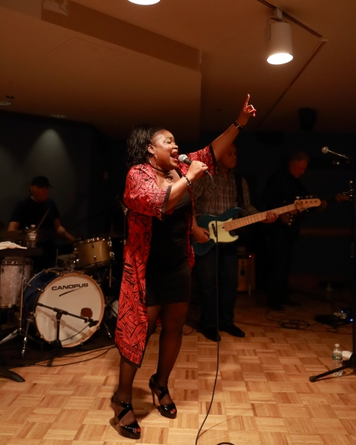 Shemekia Copeland and her band