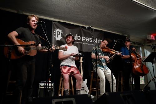 Dietrich Strause, Sean Trischka, Rob Flax, Mike Block