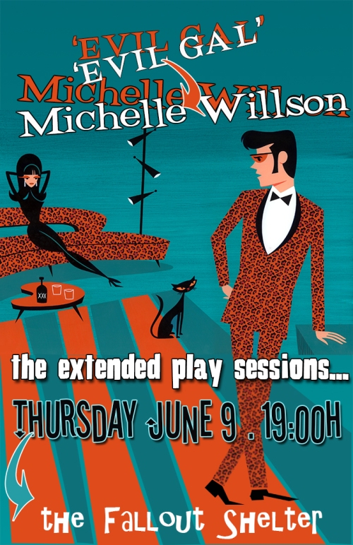 Michelle 'Evil Gal' Willson (Official Poster)