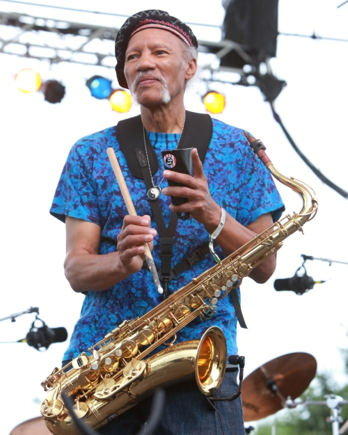 Charles Neville (more cowbell, please)
