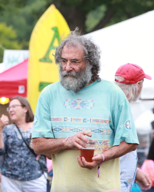 Jerry Garcia's twin was at the Festival!