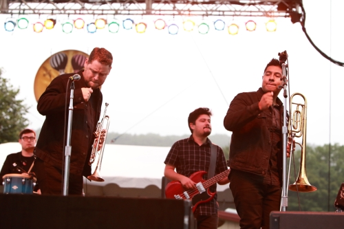 The Suffers (Jon Durbin, Adam Casteneda, Kevin Bernier, l to r)