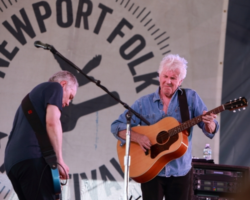 Graham Nash and Shane Fontayne